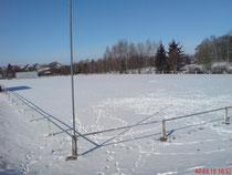 Turnierplatz im Schnee