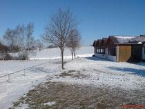 Vorbau im Winter