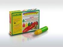 Wachs-Wichtel 6 Farben (sozial und ökologisch hergestellt) von ökoNORM