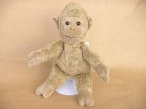 Kleine Knuffelbande Affe hellbraun (Vegan und Biobaumwolle) von Kallisto