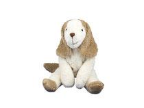 Schlenkertier Hund (Biobaumwolle und schadstofffrei) von Senger