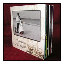 Fotobuch auf Echtfotopapier belichtet nicht gedruckt
