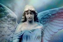 Engel blau