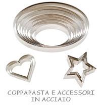 COPPAPASTA E ACCESSORI IN ACCIAIO