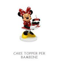 CAKE TOPPER PER  BAMBINI