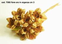6 fiori oro