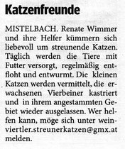 Bezirksblatt Mistelbach 11/2010