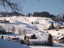 Skigebiet Parsenn direkt bei Ferienwohnung Nocker