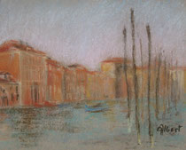 grand canal,légère brume
