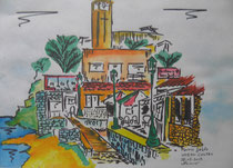 fuerteventura, m.j., 80 x 100, bleistift-aquarell / unavailable (sorry)