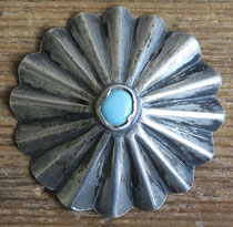 "4821b Navajo Button c.1930-50 1.75"" $175"