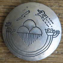 "4025 Navajo/Pueblo Button Cover 1"" $50"
