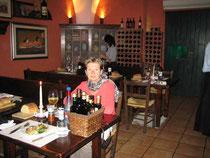 """Im Restaurant """"Ai Lumi"""""""