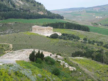 Tempel in Segesta