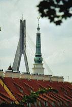 Türme in Riga