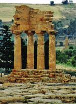 Agrigento - Tal dem Tempel