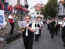 Die Taunusmusikanten &  Ländchesmusikanten spielen gemeinsam das Trompetenecho