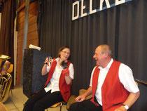 Marianne und Dieter hatten so ihren Spass. Über was, bleibt ihr Geheimnis.