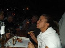 ... die Pizza vom Italiener nebenan schmeckte auch.