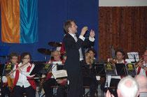Der Wallauer Dirigent Kilian Düring