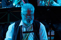 Markus Schaaf am Tenor-Saxophon