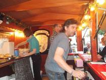 Jürgen war immer für einen Smalltalk mit den Leuten an der Theke bereit.