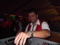 Beim kühlen Bier war Jürgen der Erste.