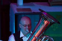 Arno Englert unser 2. Mann an der Tuba.