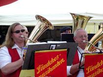 Steffen und Karl-Heinz freuten sich.....