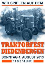 Das Traktorfest bereits zum 11.mal.