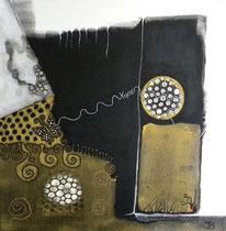 Hope  40 x 40 cm  ,  en faveur de la Fondation Enfant Papillon