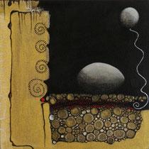 Au Clair d'Oeufs , La Lune...    20 x 20 cm 3D