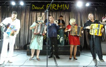 Gala Rignac 2015 , David Firmin, Sylvie Pullès, David Corry et Frédéric