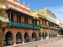 Plaza de la Choches, der frühere Sklavenmarktplatz