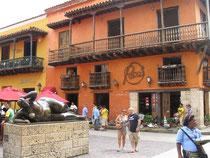 Hardrockcafe am Plaza de la Aduana