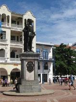 der Stadtgründer  Pedro de Heredia