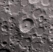 Cratère Tycho 86 X 86 km