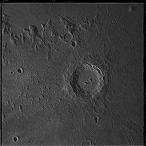 Cratère Copernicus 93X93 kms, hauteur 3760 m