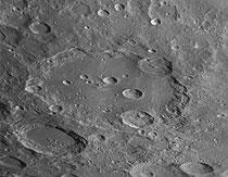 Cratères Clavius 225X225 km, Blancanus 106x106 km