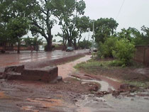 Orage à Sikasso
