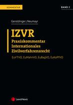 Neumayr/Geroldinger (Hrsg.) IZVR Praxiskommentar zum Internationalen Zivilverfahrensrecht Band 2