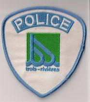 Police trois-rivières  (Bleu ciel / Blue sky)  (Ancien / Obsolete)  (État : 1 Comme neuf  /  Condition : 1 Same new)