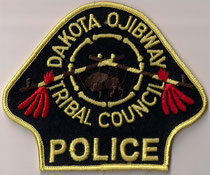 Dakota Ojibway Tribal Council - Police  (Version 1)  (Manitoba)  (Ancien / Obsolete)  (Neuf / New)  1x