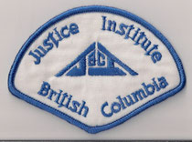 Justice Institute British Columbia  (Ancien / Obsolete)  (Usagé en très bonne condition / Used in perfect condition)  1x