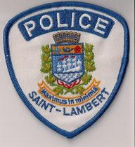 Police Saint-Lambert  (Usagé/Use)  1x