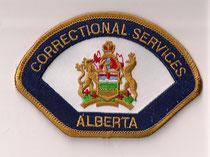 Correctional Services Alberta  (Orange)  (2006)  (Ancien / Obsolete)  (Usagé / Used)  1x