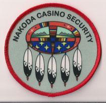 Nakoda Casino Security  (Alberta)  (Ancien / Obsolete)  (Neuf / New)  1x