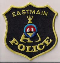 Eastmain Police  (Crie / Cree)  (Version 3)  (Modèle doré / Gold model)  (Défunt / Defunct)  (Fusionné avec Eeyou Eenou /  Incorporated with Eeyou Eenou)  (Dernier model / Last model)  (Comme neuf / Like new)  ####  ÉCHANGE SPÉCIAL  /  SPECIAL TRADE  ####