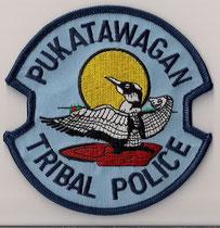 Pukatawagan Tribal Police  (Nouveau-Brunswick / New Brunswick)  (Ancien modèle / Last model)  (Neuf / New)  1x