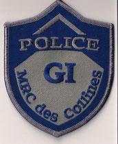 Police - MRC des Collines - GI  (Modèle bleu & gris / Grey & blue model)  (Ancien modèle / Last model)  (Neuf / New)  ####  ÉCHANGE SPÉCIAL  /  SPECIAL TRADE  ####  2x